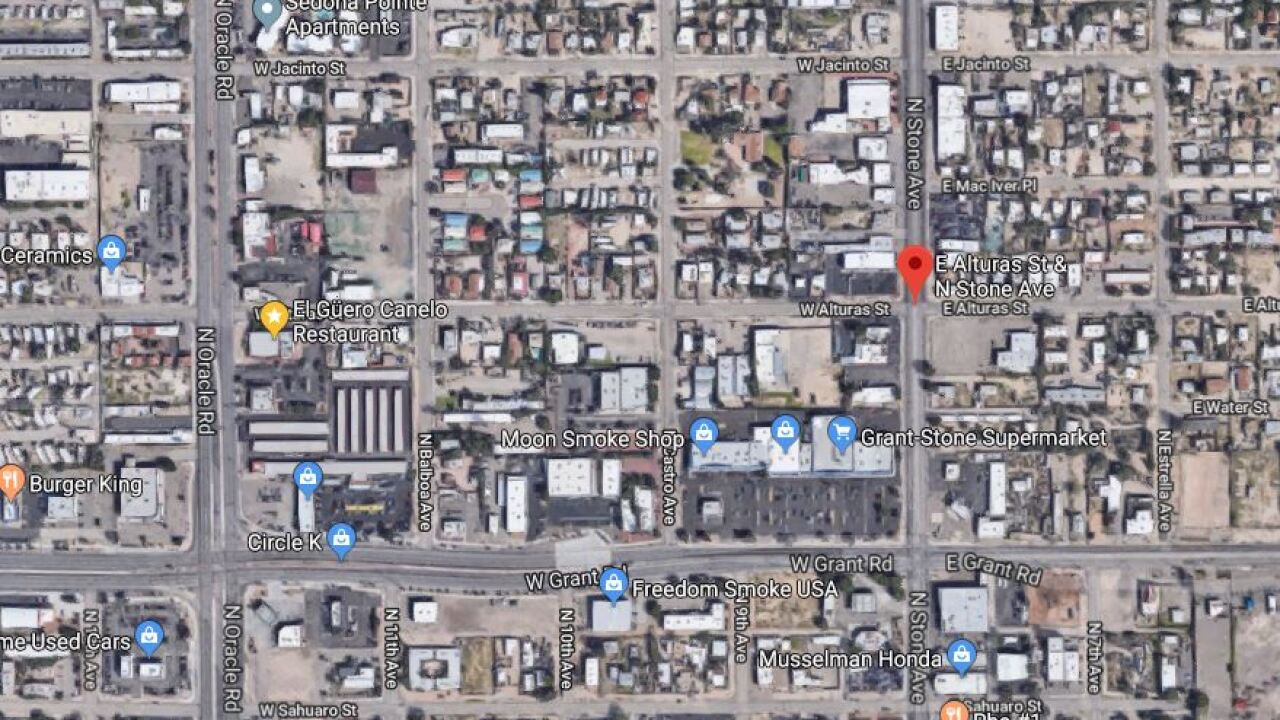 MAP pedestrian struck on Alturas and Stone Ave.JPG