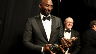 Kobe Bryant talks Oscar win, dreams of being a writer