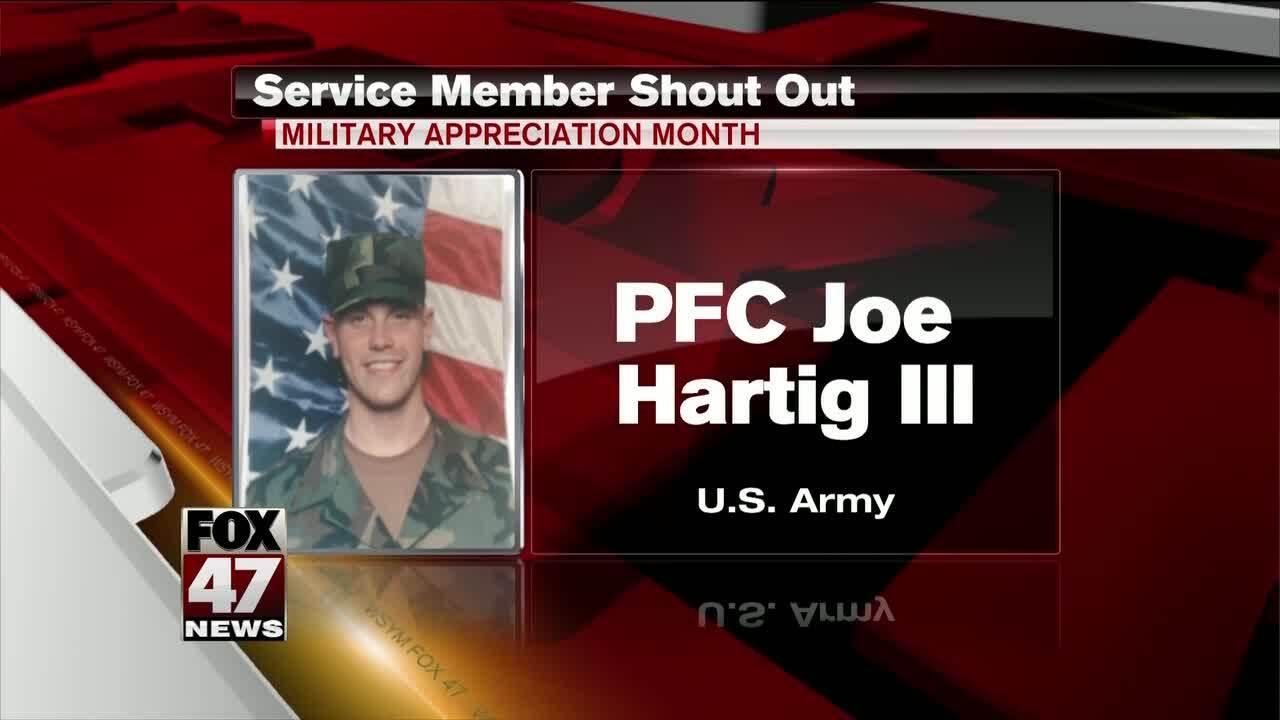 PFC Joe Hartig III