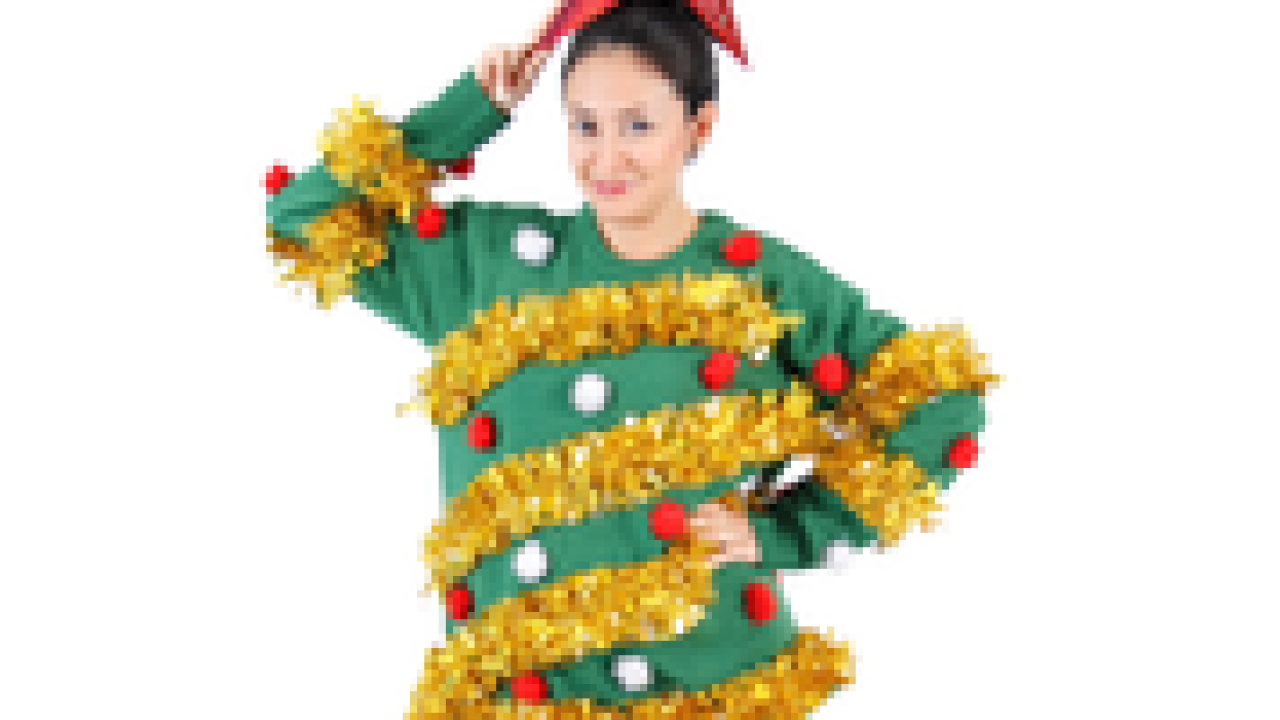 Tis the season to show off your ugly Christmas sweaters