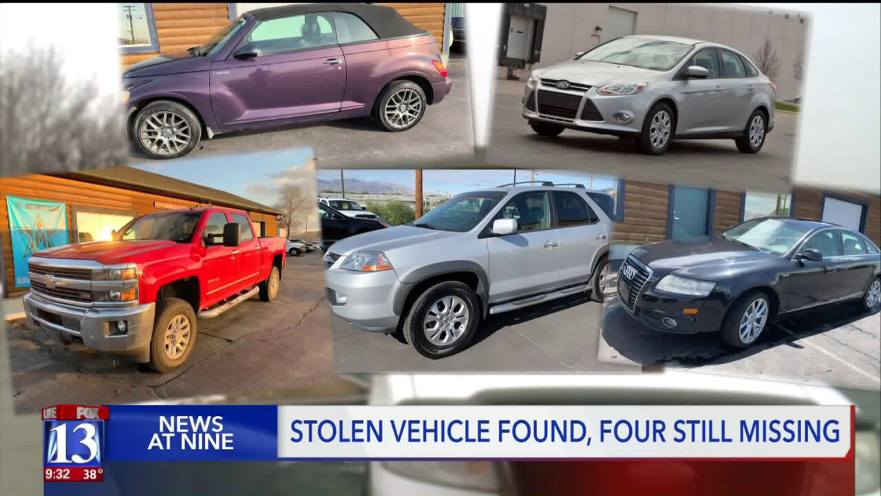Local auto business forced to close following theft of cars, keys and dozens of titles