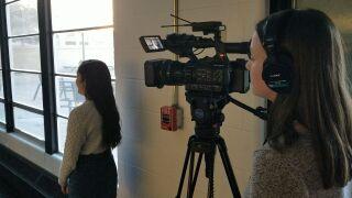 Pueblo South HS student reporters