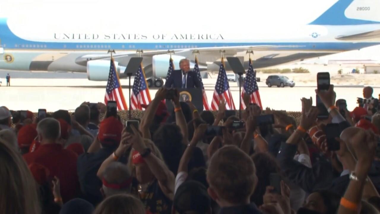 Trump in Yuma