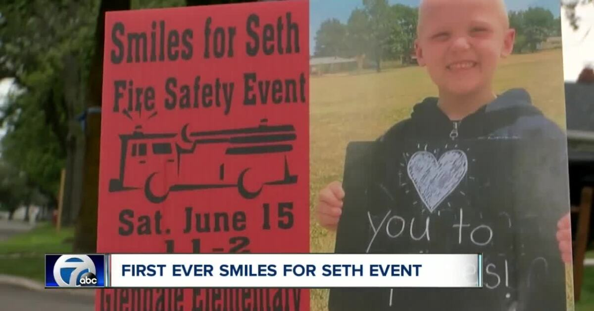 'Smiles for Seth' event raises fire safety awareness