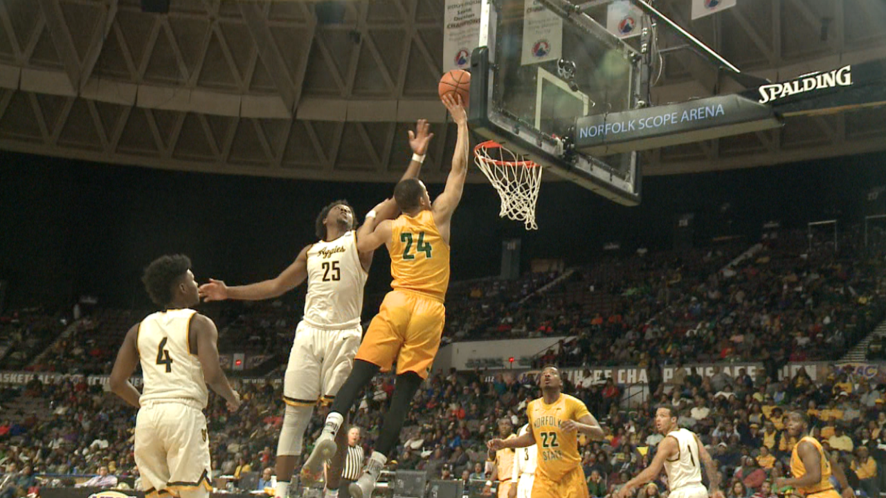 Norfolk State men's basketball falls short in MEAC tournamentquarterfinals