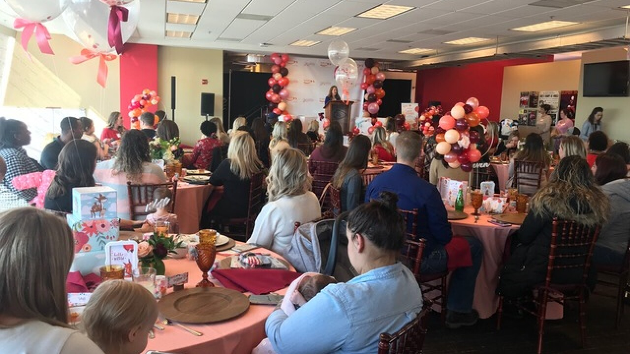 Chiefs host baby shower for military moms-to-be