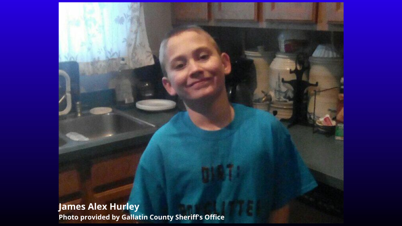 Three people have been arrested in Gallatin County in connection with the death of 12-year old James Alex Hurley.