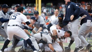 New Tigers catcher Austin Romine says 'no hard feelings' after 2017 fight with Miguel Cabrera