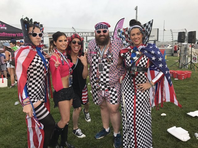 America at the 500