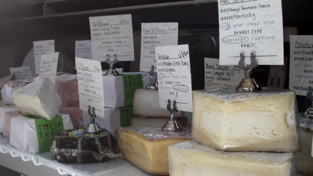 The Rhined brings regionally made cheeses to Over-the-Rhine