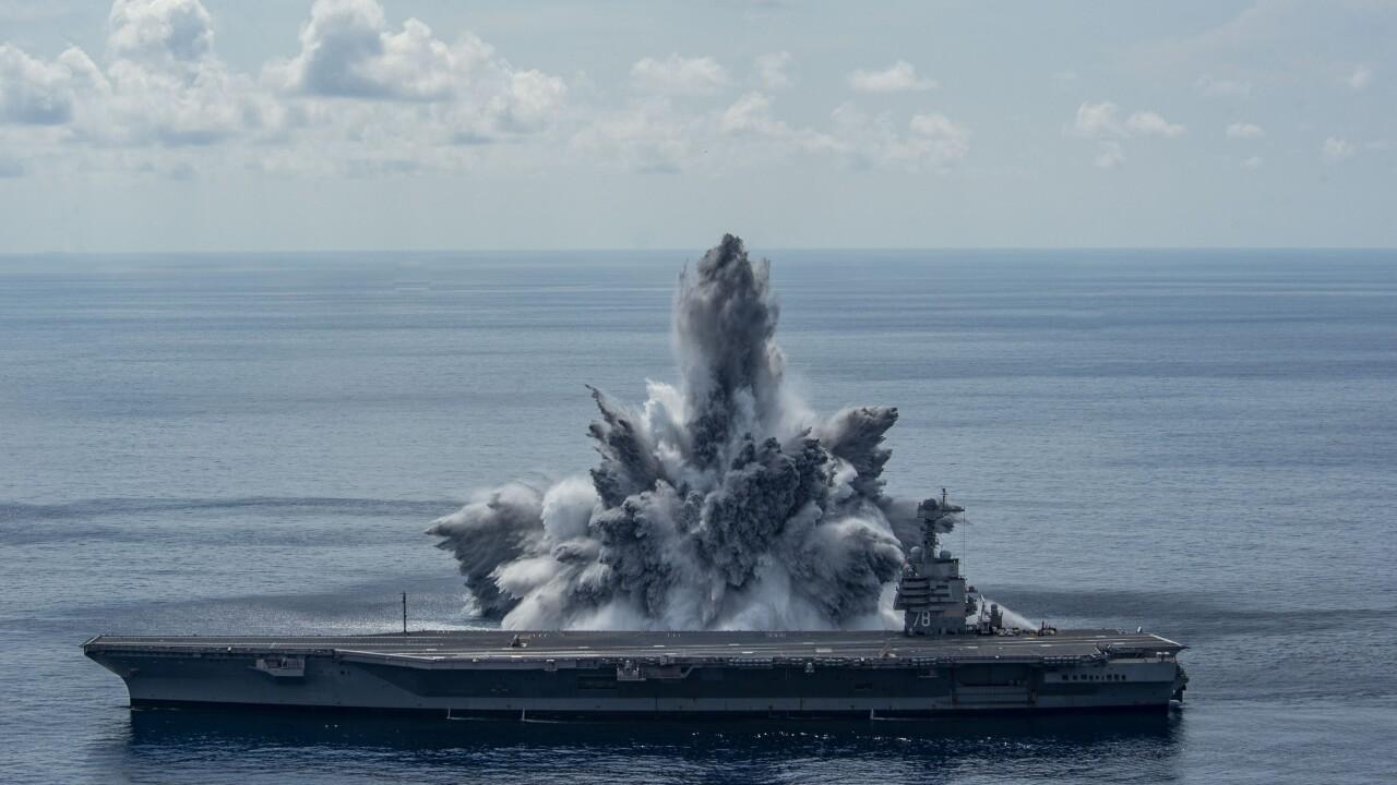 USS Gerald R. Ford (CVN 78) Third Shock