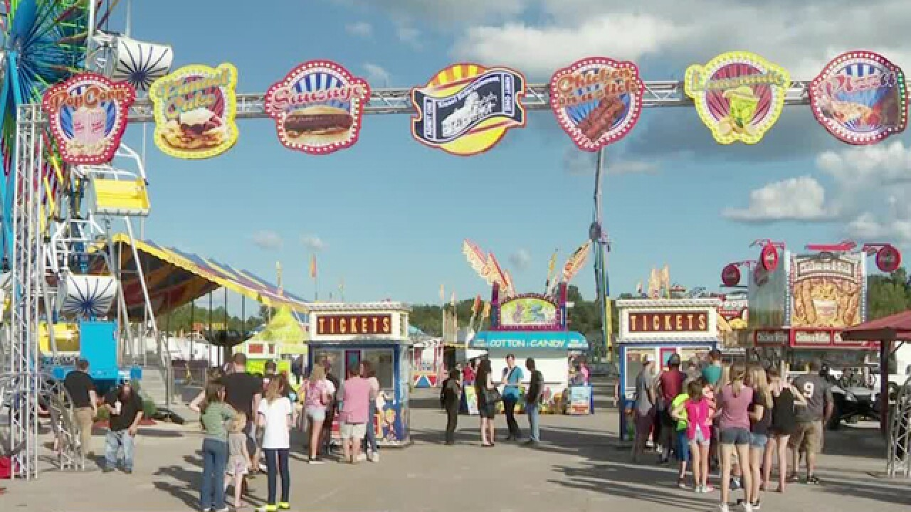 Family Fun Underway At The Dickson County Fair
