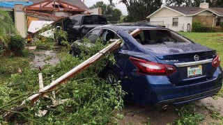Tropical storm Nestor sends tornadoes to Florida, leaving extensive damage