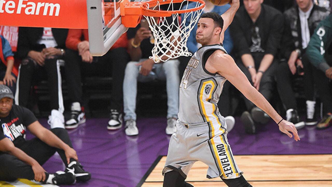 Hardest part about Larry Nance Jr.'s trade to Cleveland? Convincing mom he won't be living at home