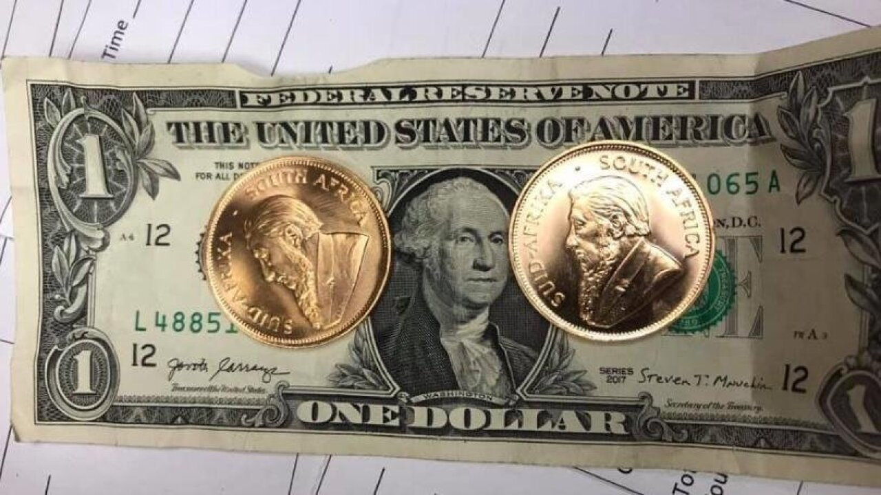 Salvation Army receives rare gold Krugerrand coins in Michigan