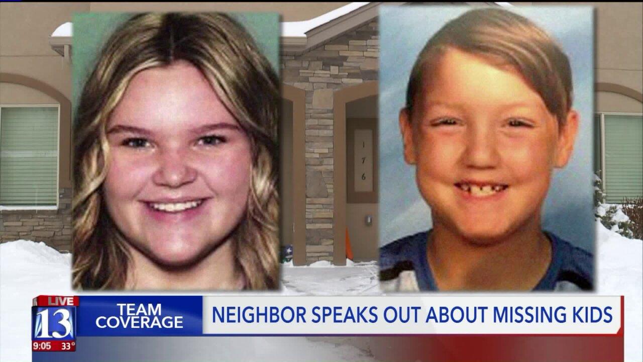 Missing Idaho children's mom fled the night before FBI raided home, neighborsays