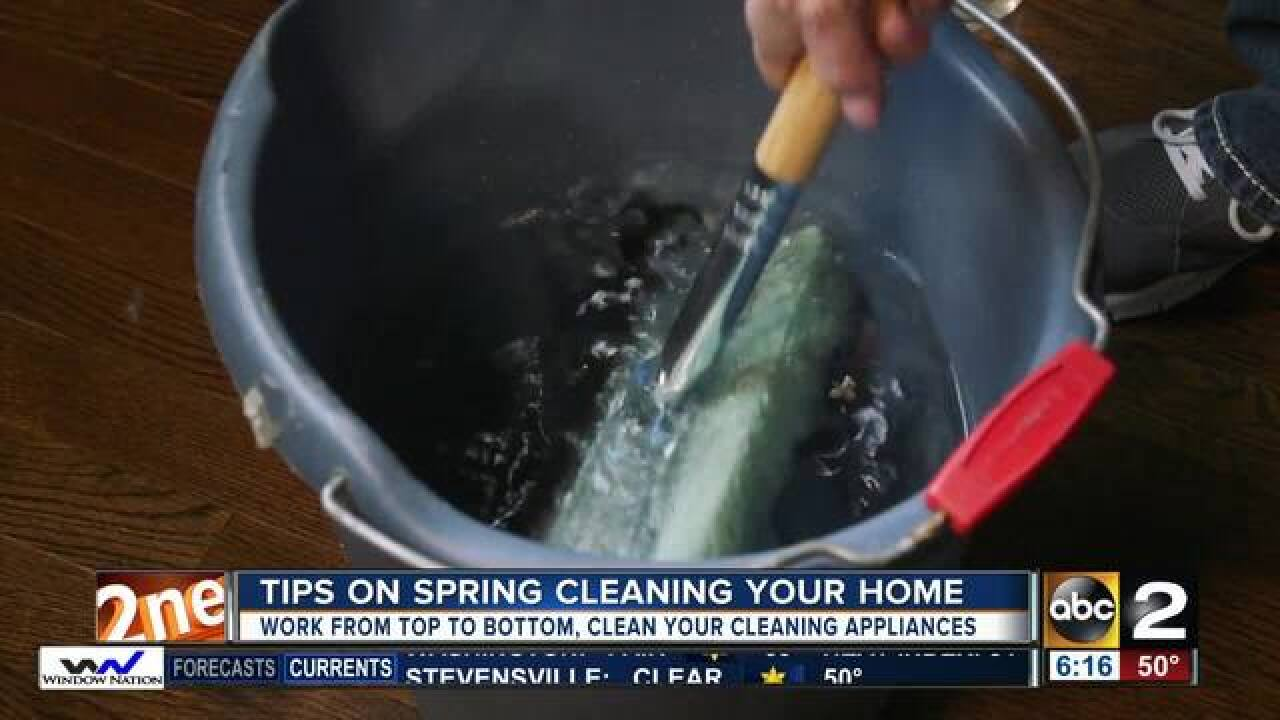Items to add to your spring cleaning checklist