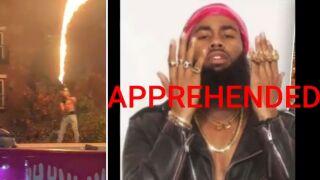 Brooklyn rapper Dupree G.O.D flamethrower on MTA bus