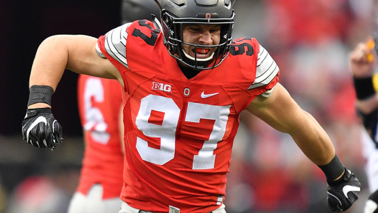 best service be6f8 73fe1 Broo View: Don't blame Nick Bosa for prioritizing the money