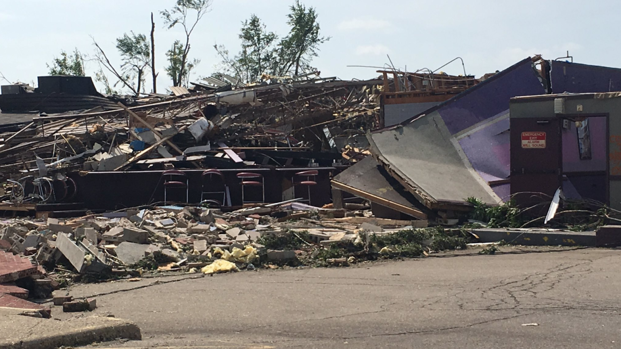 Tornadoes ripped through Ohio tearing apart homes and damaging schools