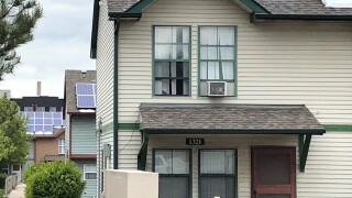 Rooftop solar panels in North Lincoln Park