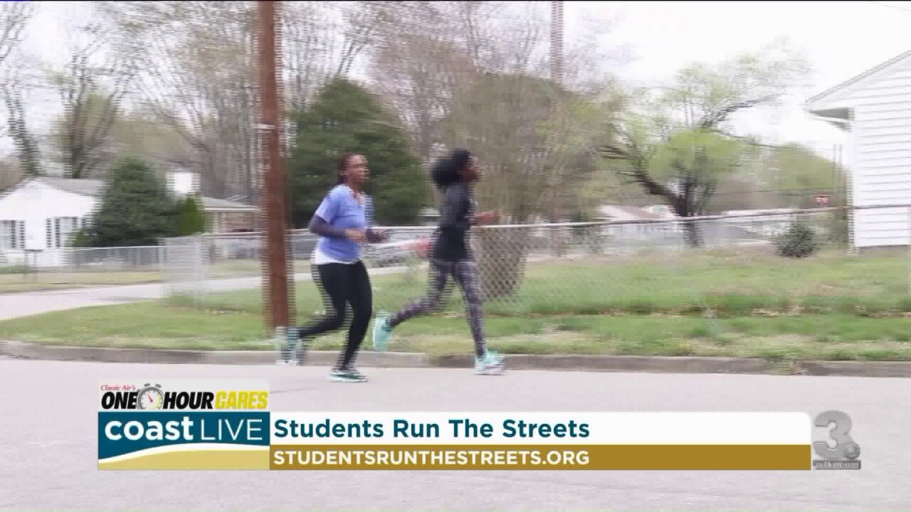 A local group using running to help students do more than exercise on Coast Live
