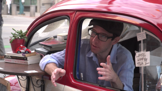 Man turns simple business idea into reality: Sell coffee from his Volkswagen Beetle