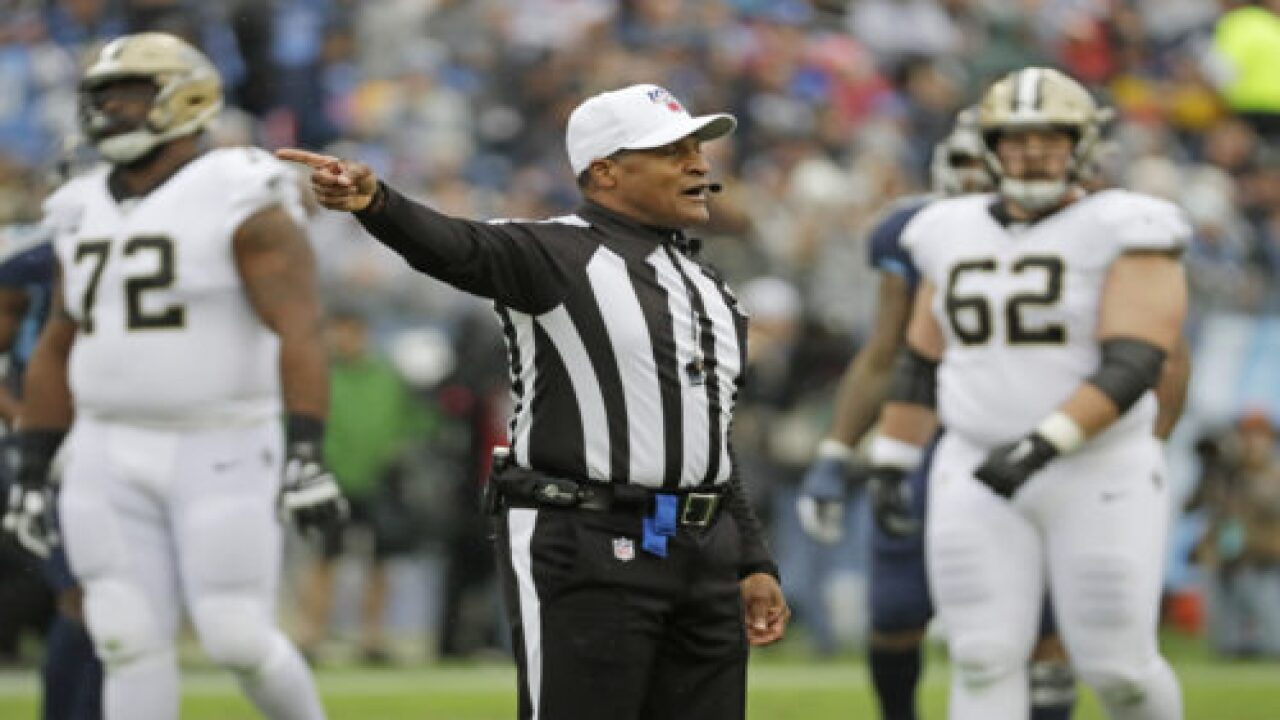 NFL's First-ever All-Black Crew Will Officiate Monday Night's Game