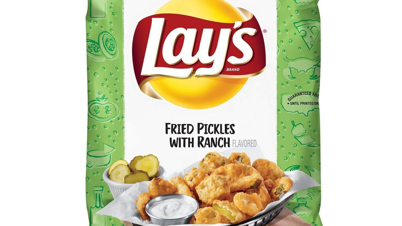 Lay's brings back Fried Pickle with Ranch flavored potato chips