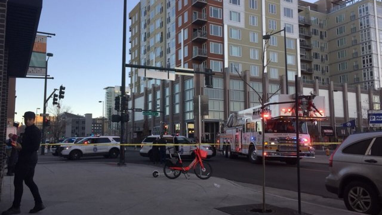 Police investigate shooting in downtown Denver