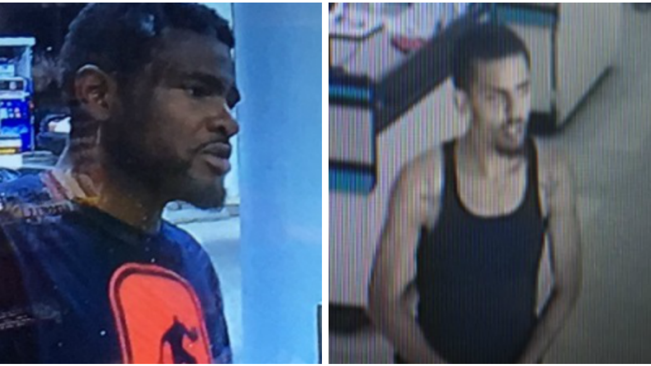 2 men wanted in Chesterfield car theft, credit cardfraud