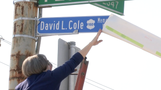 A Walnut Hills street was renamed for a Cincinnati police officer killed on the job in 1974.