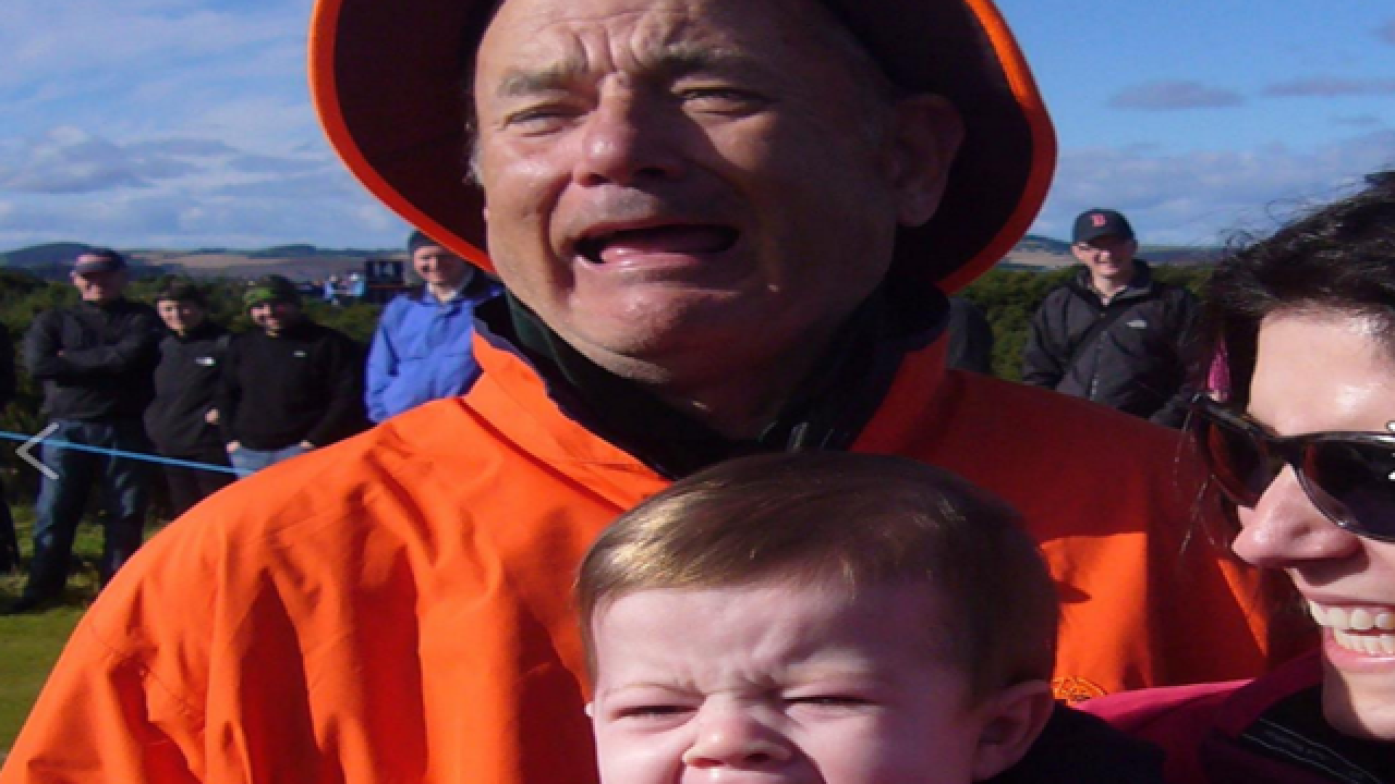 Viral photo has us all stumped: Tom Hanks or Bill Murray?