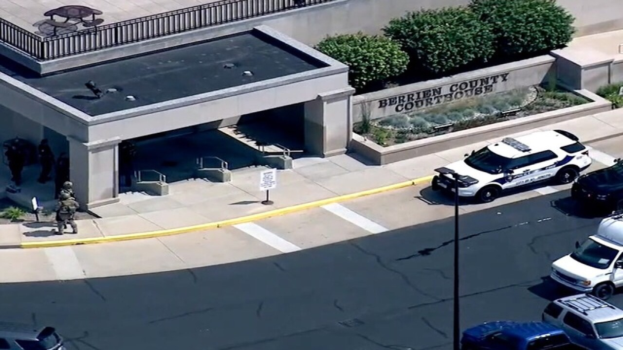 3 dead in shooting at courthouse in Michigan