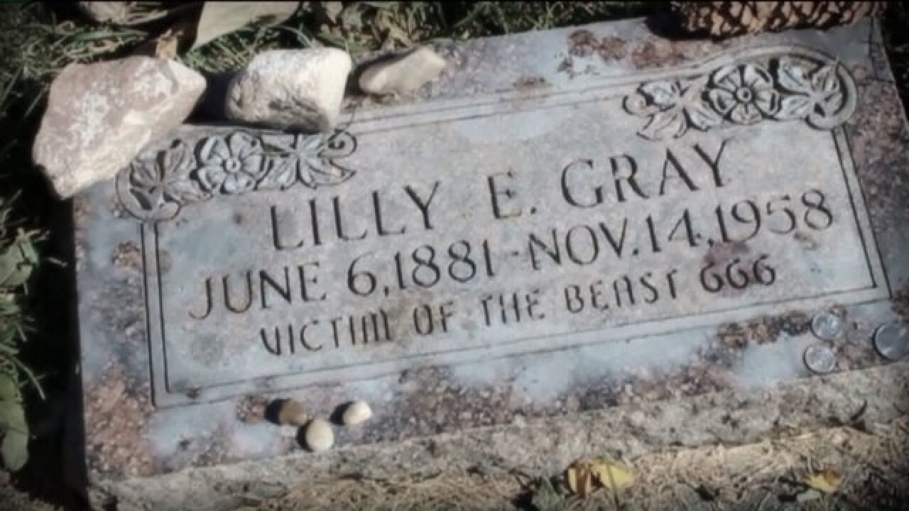 The mystery of Lilly Gray 'victim of the beast'unearthed