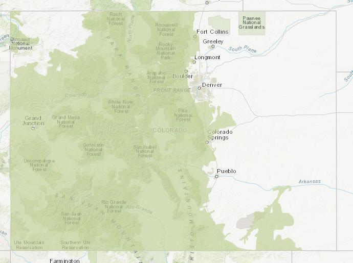 Black Bear Overall Range_Data Basin