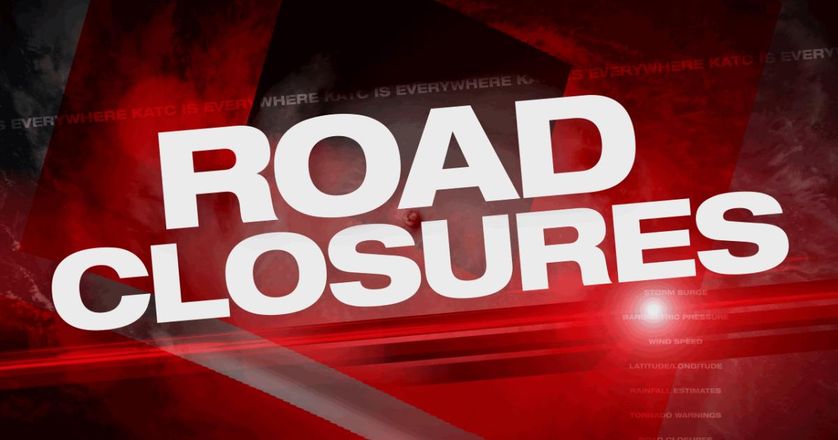 wi road closures.