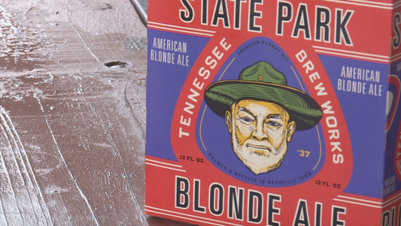 State Park Blonde Ale benefits Tennessee State Parks