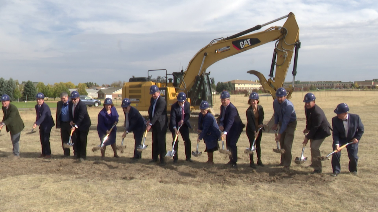 Ground-breaking ceremony held for medical school in Great Falls