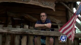 Texas ER doctor quarantines in backyard treehouse to keep family safe from COVID-19