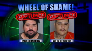 Wheel Of Shame Fugitives Arrested: Michael Martinez & Jacob Mondragon