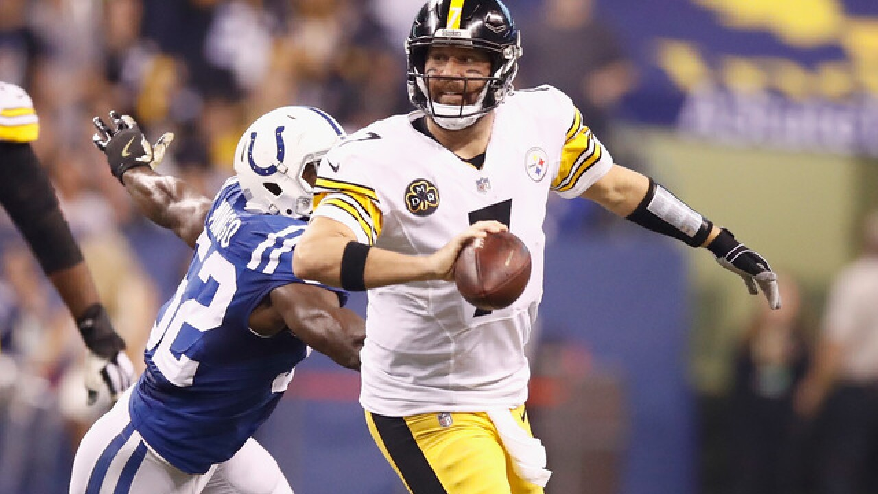 Roethlisberger rallies Steelers to 20-17 win at Indianapolis