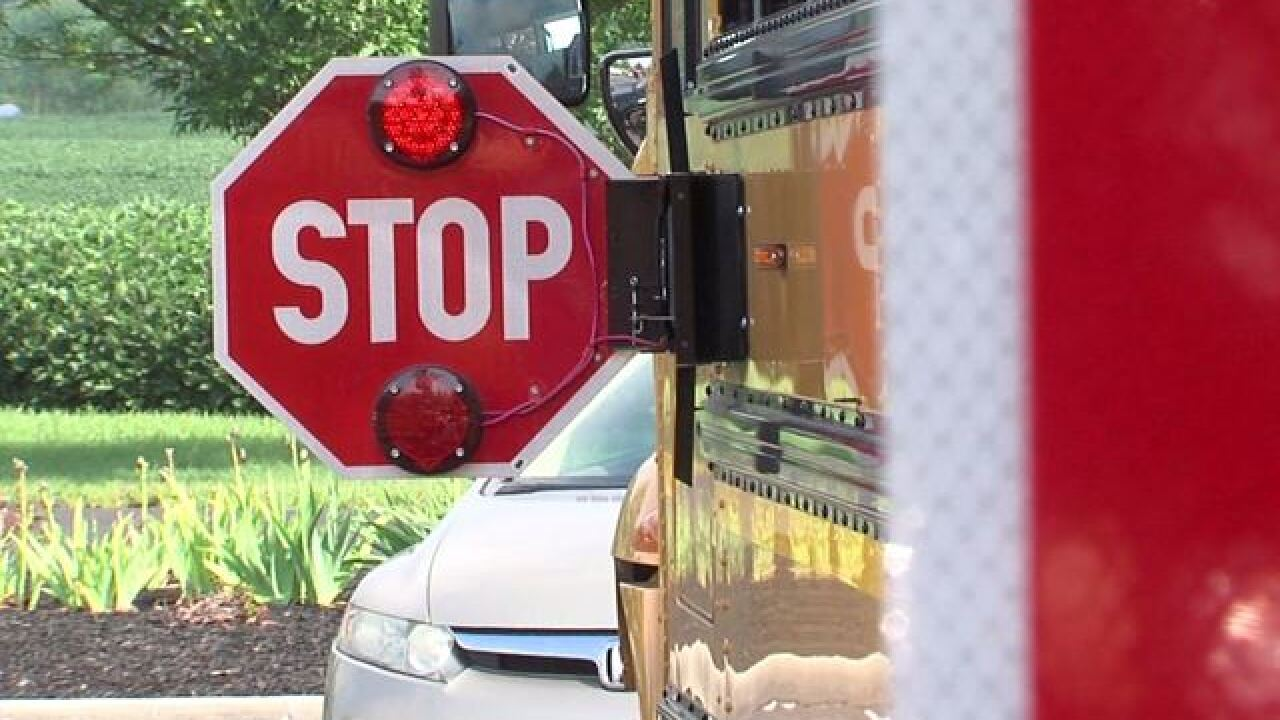 Police warn drivers: Stopping for school buses isn't a suggestion, it's the law