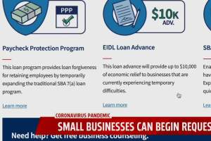 Small Businesses start applying for Paycheck Protection Program
