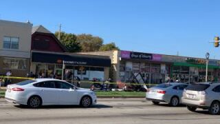Car crash at Fond du Lac and Capitol on Wednesday