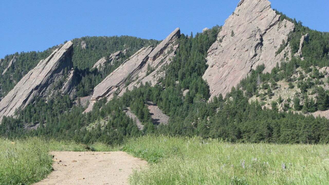 Boulder plans repair work on 3 popular trails - Chautauqua Trail, Bear Canyon Trail and Mesa Trail