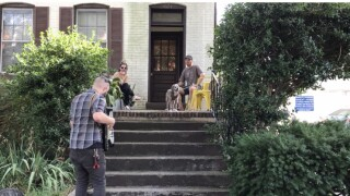 Norfolk musician offers accordion-at-your-door performance