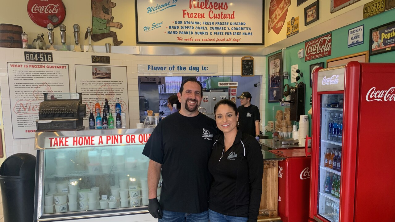 Nielsen's Frozen Custard staying open for customers and employees