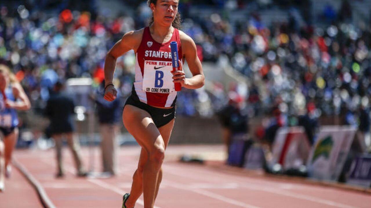 Princeton grad, track star has sites on Olympics