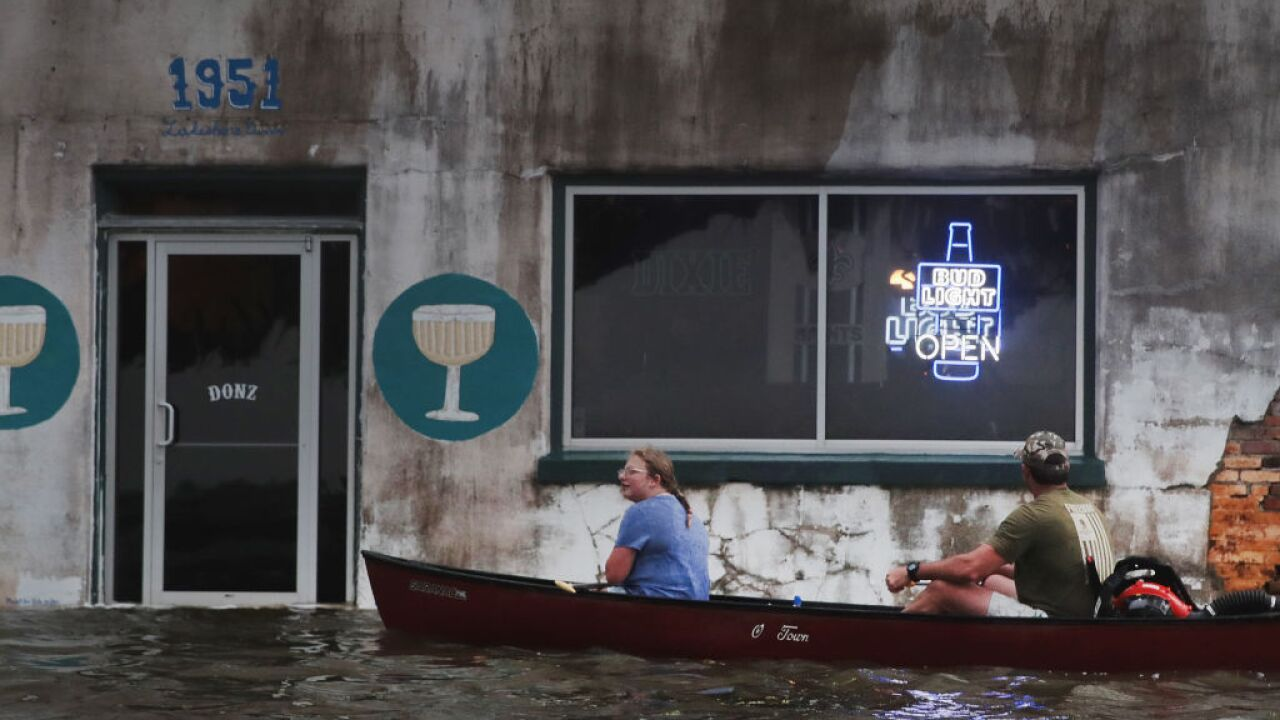 'The worst is yet to come' as Barry threatens 11 million people with flooding